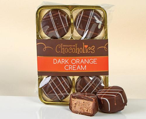 7003 SV Dark Chocolate with an Orange Flavoured Filling