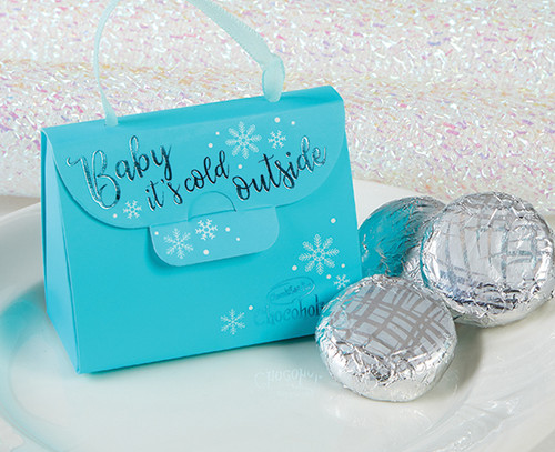 7035 Baby It's Cold Outside Handbag with Mint Chocolates