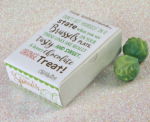 7214 Luxury Chocolate Brussels Sprouts Truffles