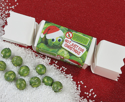 Large Sprouts Cracker with Milk Chocolate Balls
