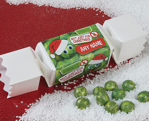 Personalised Sprouts Cracker