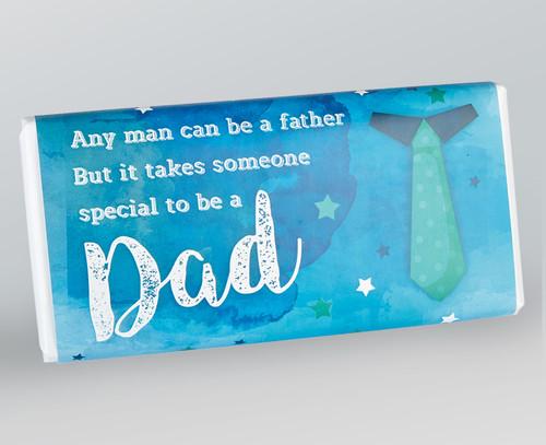Fathers Day Chocolate Bar 100g