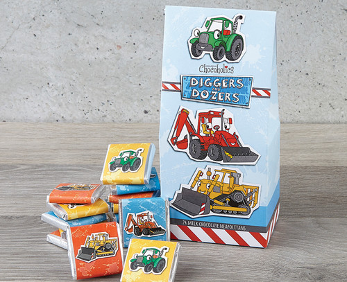 Diggers & Dozers Milk Chocolate Gift Pack