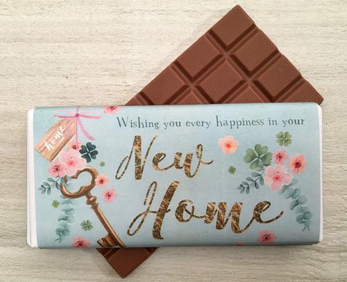 New Home - Key Design Milk Chocolate Bar
