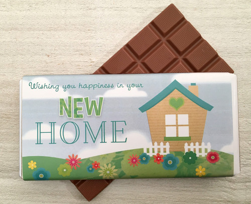 New Home - House Design Milk Chocolate Bar