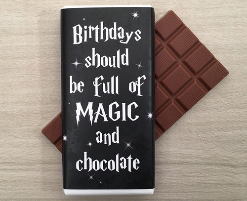 Birthday Magic Milk Chocolate Bar 100g