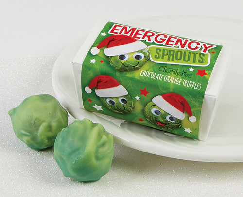 7374 Emergency Luxury Chocolate Brussels Sprouts Duo