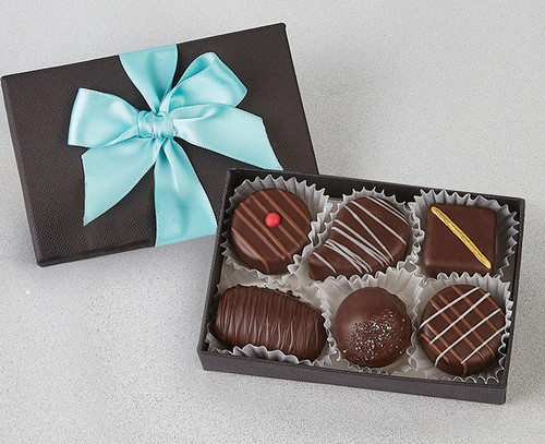 Plain Chocolate Selection in Black Box
