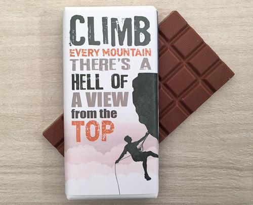 Milk Chocolate Bar 100g for a Climbing Enthusiast - 7348