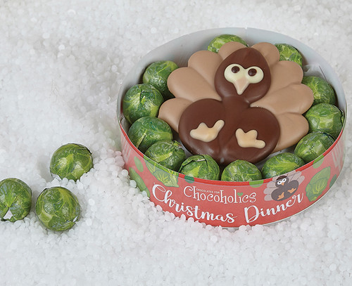 Luxury Chocolate Christmas Turkey Dinner