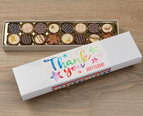 Thank You Stars 16 Luxury Chocolates in a Box