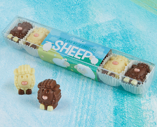 5077 Chocolate Sheep with Cream Filling