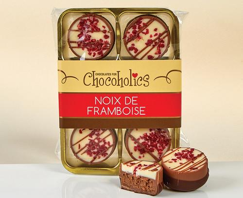 7681 Noix de Framboise Chocolates ( Raspberry and Praline) - single variety