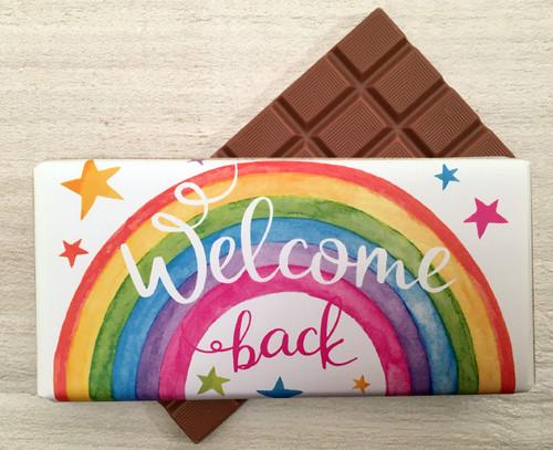 Welcome back Chocolate Bar 100g 9276