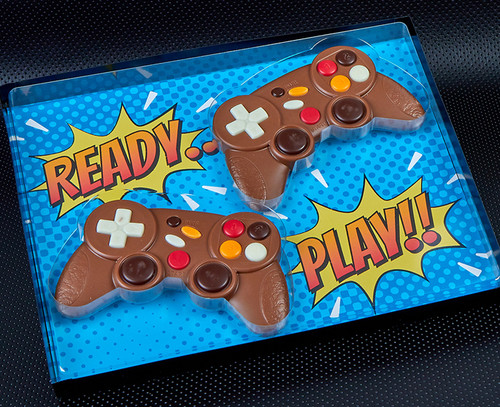 7612 Milk Chocolate Double Pack of Game Controllers