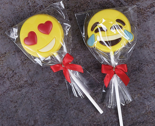 White Chocolate Emoji Lolly
