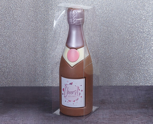 Milk Chocolate Champagne Bottle