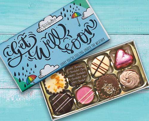 7716 Eight Luxury Chocolates Get Well Soon