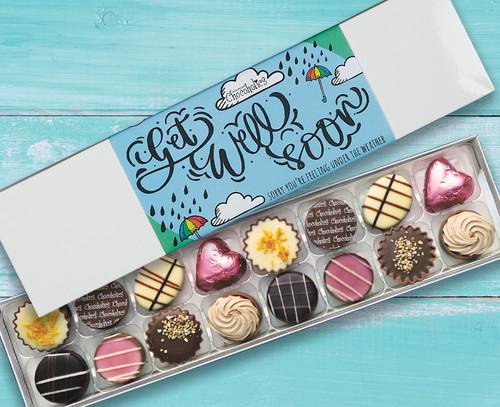 7422 Luxury Sixteen Chocolates Get Well Soon