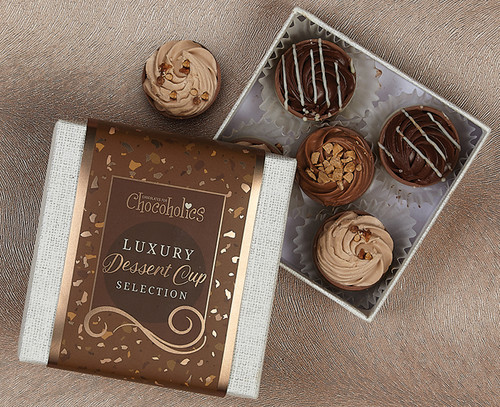 Dessert Cup Chocolate Assortment with wrapper