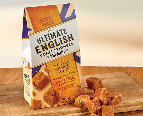 7512 Clotted Cream Fudge from Ultimate English