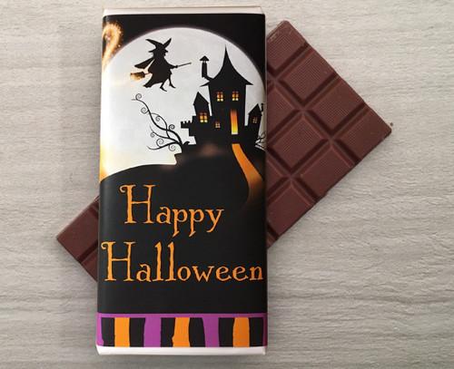 Halloween Milk Chocolate 100g Bar