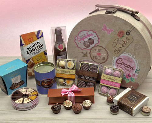 7434 Cocoa Couture Ultimate Hamper Box of Luxury Chocolate Goodies