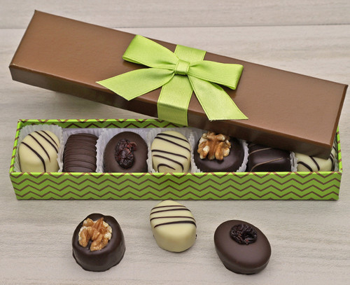 7096 Marzipan Selection in Green Box