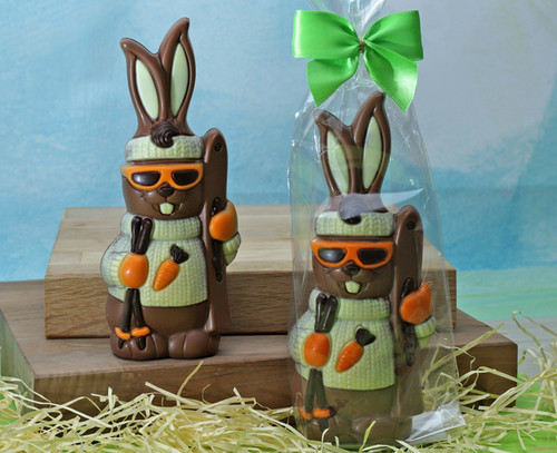 8785 Milk Chocolate Ski Bunny