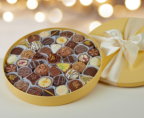 7005 Heavenly Gold Gift Box 44 Luxury Chocolates
