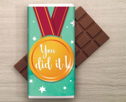 You Did It! 100g Milk Chocolate Bar 8390