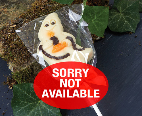 White Chocolate Ghost Lolly 5561