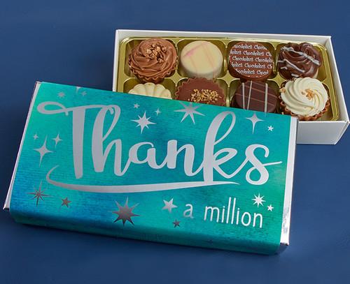 1058 Thanks a Million 8 Chocolate Box - Non Alcoholic