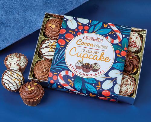 8058 12 Cocoa Couture Festive Cupcakes - Cocoa Couture