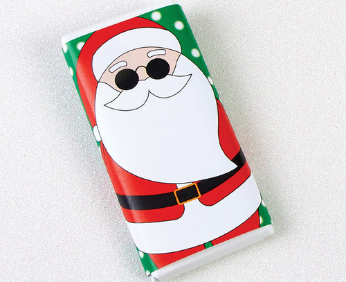 5252 Santa 50g Milk Chocolate Bar