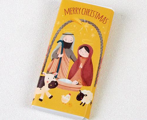 6831 Nativity 50g Milk Chocolate Bar