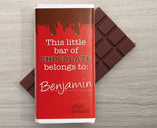 This Little Chocolate Bar design to Personalise with a name 9115