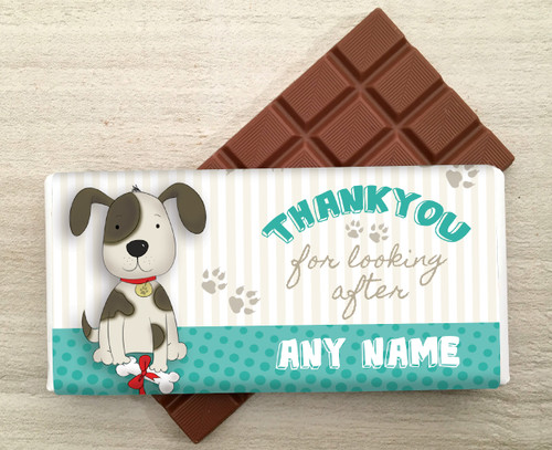 Dog - Thank You Milk Chocolate Bar