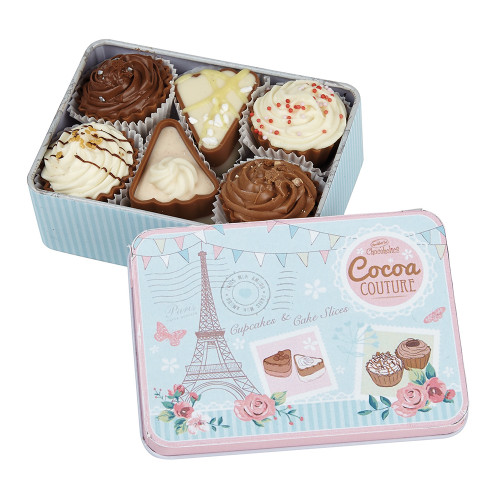 Cocoa Couture Tin with Luxury Chocolates