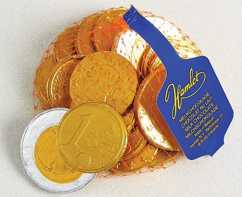8232 Net of Milk Chocolate Coins