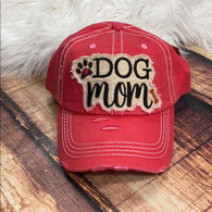 Hot Pink Dog Mama Hat