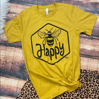 Be Happy Bumble Bee Shirt