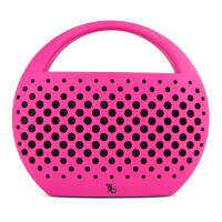 Gecko Bluetooth Speaker with Carry Handle - Pink