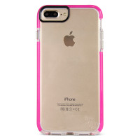 Gecko Ultra Tough Bump Slim Case for iPhone 8/7/6/6s Plus - Glow Pink