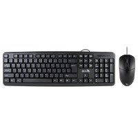 Gecko Wired Keyboard and Mouse Bundle - Black
