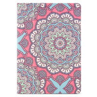 "Designer Folio Case for iPad 5/6, Air1+2 & Pro 9.7"" - Pink Mandala"