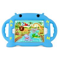 Gecko Kids Alphabet Case for iPad mini 1/2/3/4/5 - Blue