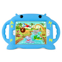 Gecko Kids Alphabet Case for iPad mini 1/2/3/4 - Blue