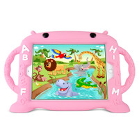 "Gecko Kids Alphabet Case for iPad 5/6, Air 1+2 & Pro 9.7"" - Pink"