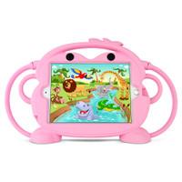 Gecko Kids Monkey Case for iPad mini 1/2/3/4/5 - Pink